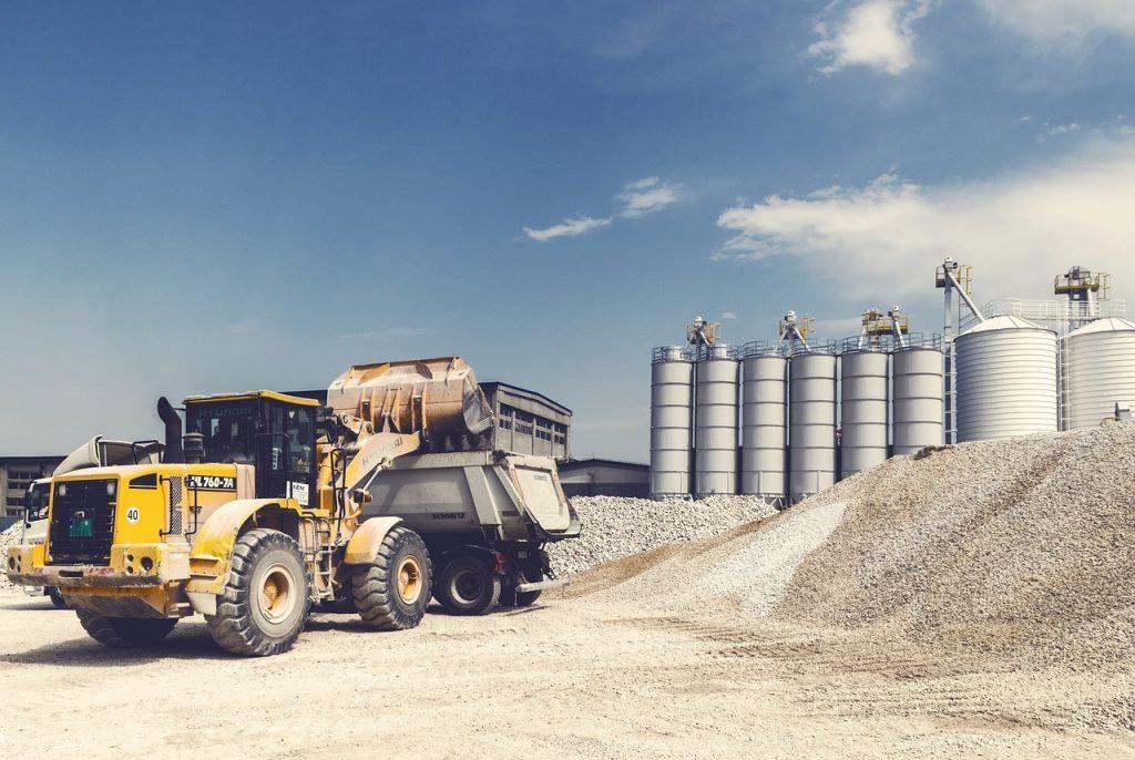 loader, gravel, digger